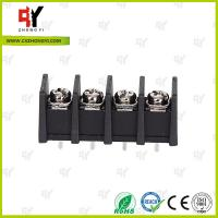 China 10.0mm Connector Terminal Block 2P - 24P with Wire Range 18 - 10AWG wholesale