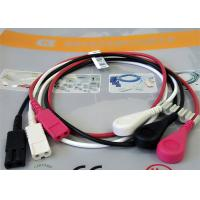 China 1M Length Patient Monitor Accessories , Monitor Connector Cable Solid Conductor wholesale