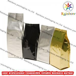 China Coffee Tea Bags Packaging , PET AL PE Material wholesale