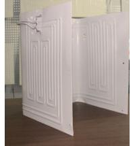 China Refrigerator roll bond evaporator No. 48 (freezer evaporator, fridge parts, HVAC/R) wholesale