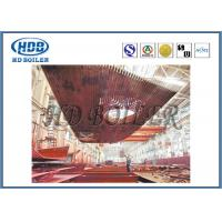 China High Thermal Efficiency Water Wall Panels Heat Exchanger For CFB Boiler Water Cooling wholesale