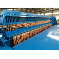 China Full Automatic Welded Wire Mesh Machine , Wire Mesh Roll Welding Machine Stable Performance wholesale