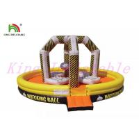 China High Durability Inflatable Wrecking Ball Commercial Blow Up Sport Game For Rental on sale