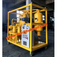 Buy cheap Double-stage vacuum Transformer oil filtration machine, Insulation Oil Purifier from wholesalers