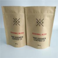 China Customized Paper Bag Packaging Vegetable Seeds Ziplock Valve Smell Proof For Coffee / Tea wholesale