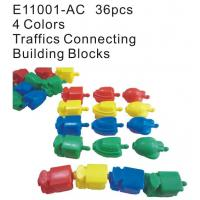 Toy, Educational Blocks, Traffic Connecting Building Blocks (E11001-AC)