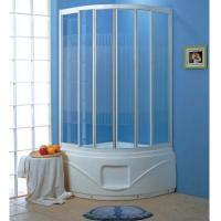 China Freestanding walk in shower enclosures shower set shower cabin with white tray G358 wholesale