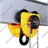 China 3 Ton Geared Manual Trolley With Chain (GTC-A03) wholesale