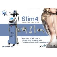 China Multi - Function Vacuum Slimming Machine 5 In 1 System Germany Pump LED Screen Vacuum Roller System wholesale