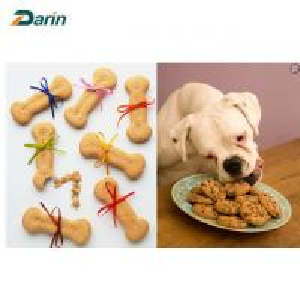 China Full Life Dog Biscuit Making Machine , Pet Dental Care Dog Food Equipment on sale