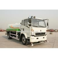 China LHD / RHD 4X2 5CBM Water Sprinkler Truck Diesel Fuel Type Size 5995 X 2050 X 2350mm wholesale