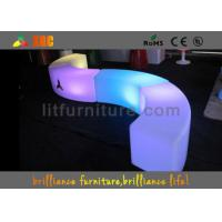 China Illuminated Furniture LED Table And Chairs Cerved Glowing Bar Furniture wholesale