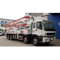 ZOOMLION mounted concrete pump truck 47m with Preeminent intelligent control