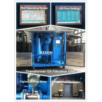 China Weather Proof Type High Precision Filtered Insulating Oil Purifier Machine on sale