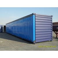 China Waterproof Vinyl polyester tarpaulin side curtain / blue dump truck tarps 20x20 wholesale