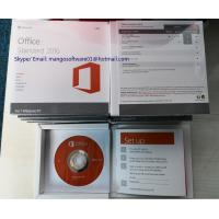 Buy cheap DVD Online Activation Microsoft Office 2016 Retail Home And Business 100% from wholesalers