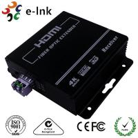 China 100Ω Impedance 4K EDID, SFP Port HDMI Over Fiber Optic Extender 3840*2160/30P wholesale