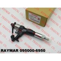 Buy cheap DENSO Common rail fuel injector 095000-6950, 095000-6951, 095000-6952 for HINO J05D 23670-E0330 from wholesalers