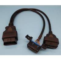 China Multi Function Vehicles GM OBD2 Y Cable / Splitter Car Scanner Cable Y Shape wholesale