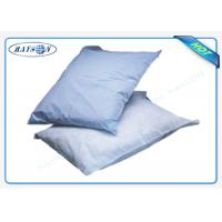 China Printed Logo Airline Non woven Pillow Cover / Headrest Cover OEM wholesale