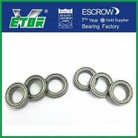 China Low Friction Deep Grooved Roller Bearings / Electric Motor Bearing High Speed on sale
