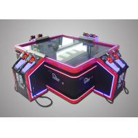 China Customized 4 Players Shooting Fish Game Machine Attractive Design 220V wholesale