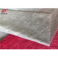 Quality 3D Embossed Minky Plush Fabric Velboa Faux Fur Fabric Brushed Surface for sale