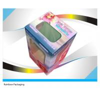 China Fancy Cake Paper Packaging Boxes Recycled With Transparent Window wholesale