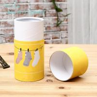 China Cardboard Cylinder Paper Box Packaging Round / Customized Shape 350g wholesale