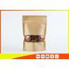 Buy cheap Custom Resealable Kraft Paper Coffee Packaging Bags Ziplock Food Bag Pouch from wholesalers