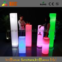 China Decorative Acrylic LED Pillars Waterproof IP54 For Wedding / Party / Club wholesale