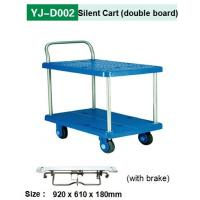China Foot Brake Push Cart with Silent Rubber Wheel wholesale