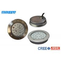 China High Performance Silver White LED Swimming Pool Lights Inground 18W / 54W wholesale