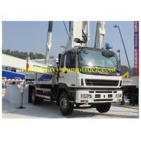 China CCC / CE Sany Truck Mounted Concrete Pump 20m Boom with Diesel Motor wholesale