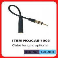 China Black Car Antenna Extension Cable 12 Inch Length For Automobile Antenna wholesale