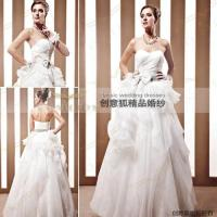 China backless inflated bride wedding dresses 90031 wholesale