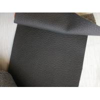China 0.8MM - 1.4MM Thickness Textured Leather Fabric Durable For Handbags wholesale