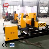 China CNC Fiber Laser Pipe Cutting Machine Bilateral Drive Transmission Adpoted Smooth Running on sale