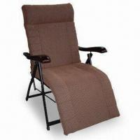 China Foldable Leisure Massage Chair with Wooden Base and 6 to 8 Massage Motors on sale