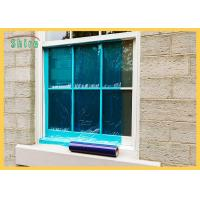 China Blue Window Wrap During Construction Clear Window Glass Protection Film Resistant To 6 Months UV wholesale