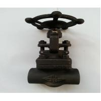 China A105 API Forged Steel Gate Valve With SW Threaded Flange End ,150LB - 1500LB wholesale