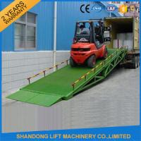 Buy cheap Mobile Hydraulic Adjustable Container Loading Ramps with 0.9m - 1.8m Lifting from wholesalers