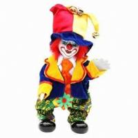 China Clown Doll with 18.5cm Height wholesale