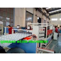 China High Output Corrugated Sheet Machine PVC UPVC Bamboo Roofing Tiles wholesale