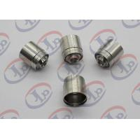 Buy cheap SGS 304 SST Joint CNC Machining Parts with 1/4-42 UNS-2 Internal Thread from wholesalers