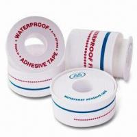 China Adhesive Surgical Tapes, Waterproof, Made of Cotton Fabric Composited with PE, Air Permeable wholesale