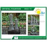China Carving Granite Cast Stone Garden Fountains Indoor / Outdoor Ornaments wholesale
