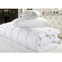 Buy cheap ECO Friendly Hotel Mattress Topper Waterproof With Washing Label ZB-MT-11 from wholesalers