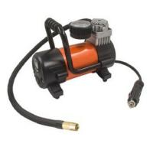 China Orange 12 Volts Car Portable Air Compressor 150w Ce Rohs Certification wholesale