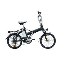 China Folding alloy frame electric bicycle / Folding Electric Bike li-ion battery , CE approved wholesale